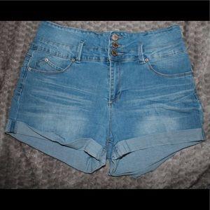 YMI high waisted short shorts